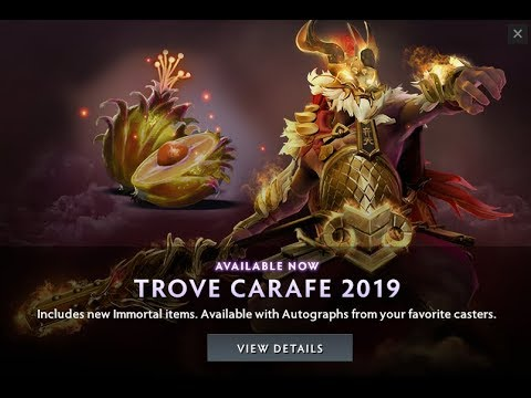 Dota 2 Trove Carafe 2019 released just before Ti9 resumes