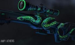 绿枝狂舞,致命蝰蛇——简评Awp   树蝰_c5game
