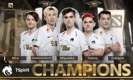 来自东欧的童话,TSpirit拿下TI10国际邀请赛冠军_c5game